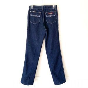 Jordache Dark Denim High WaiSt Mom 80's Jeans 30